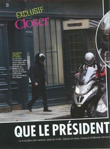 Liaison Hollande Gayet