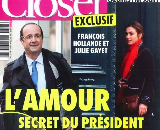 Closer : avec Gayet, une promo made on Hollande