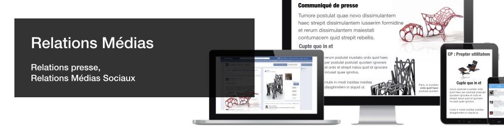 Gérer les Relations Médias - Relations presse- Relations Médias sociaux