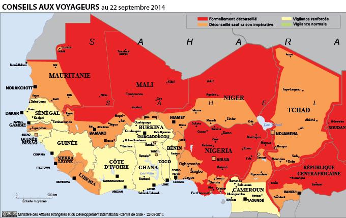 Communication de crise Voyagistes Crise Sahel EI Daesh
